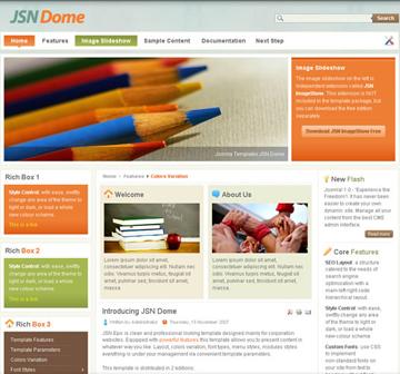 JSN Dome Free Joomla Theme